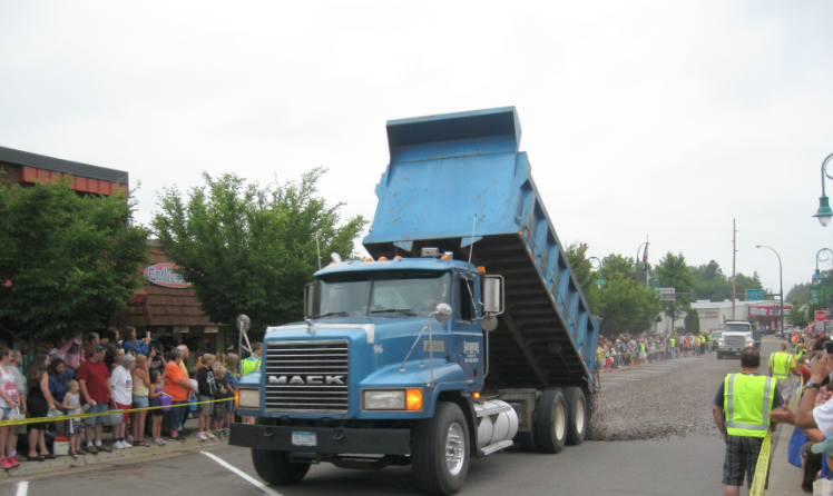 Agate Days 2013 Dump Truck Fail
