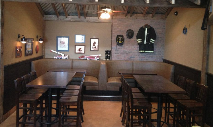Firehouse Grille Decorations