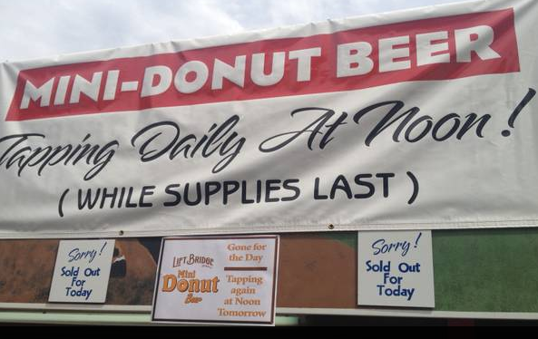 MN State Fair - Mini Donut Beer
