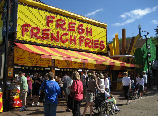 MN State Fair - Fresh French Fries