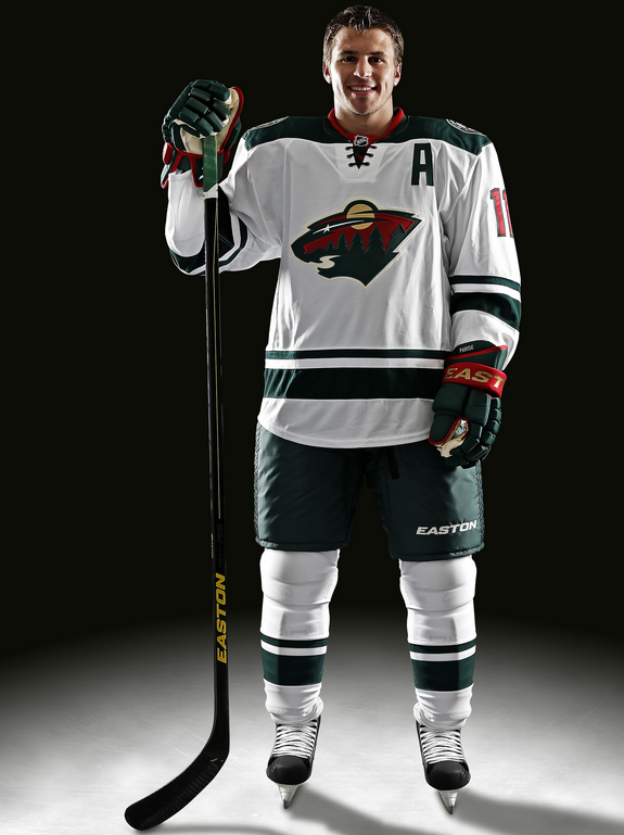 Minnesota Wild New Away Jerseys