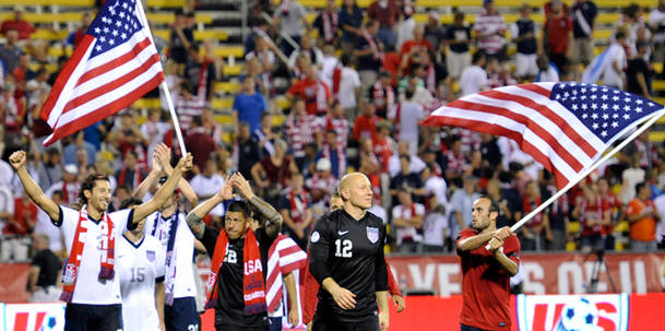 USA Men's Soccer Team Clinches World Cup Berth