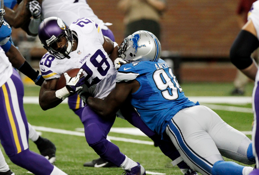 Adrian Peterson - 2013 - Lions