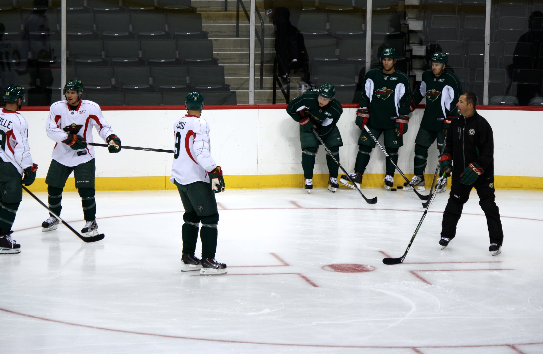 Minnesota Wild 2013 Training Camp