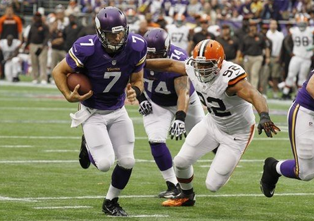 Ponder Rushing Touchdown - Browns