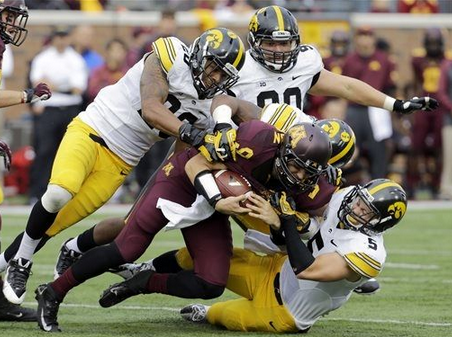 Gophers Lose to Hawkeyes - 2013