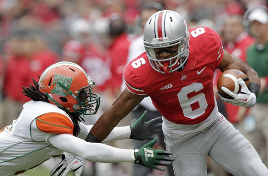 Ohio State Destroyed Florida A&M 76-0.