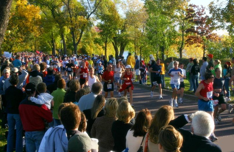 Twin Cities Marathon - Beautiful Sights
