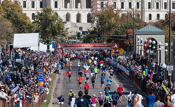 Twin Cities Marathon - 2013