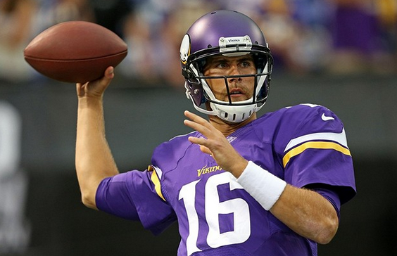 Matt Cassel - Vikings - Freeman