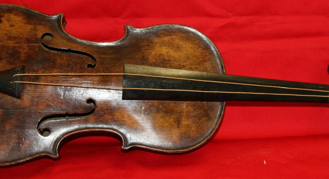 Titanic Violin Sells For Over a Million