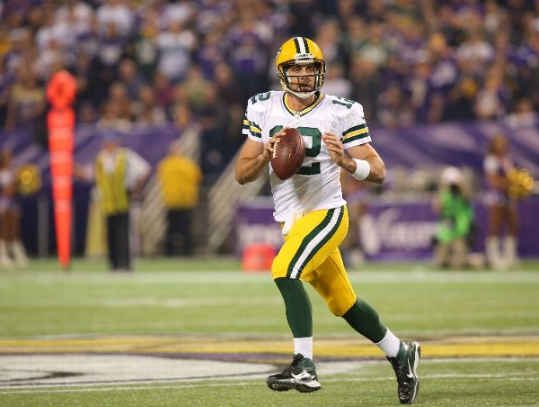 Aaron Rodgers - Packers - Vikings - 2013