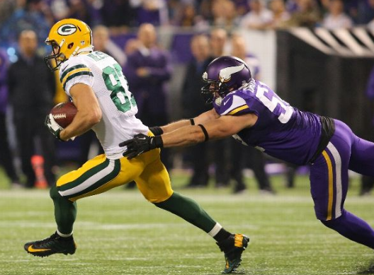 Jordy Nelson - Packers - Vikings - 2013