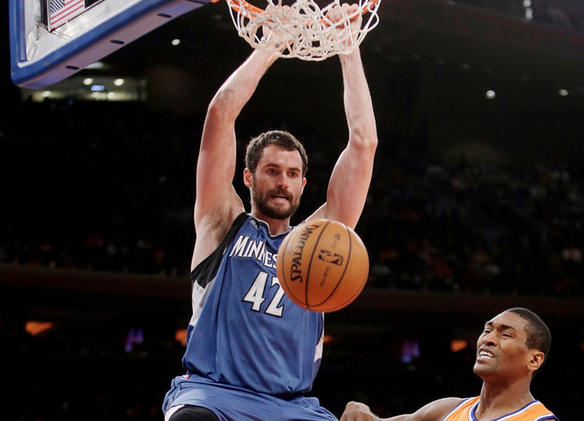 Kevin Love - Timberwolves - 2013