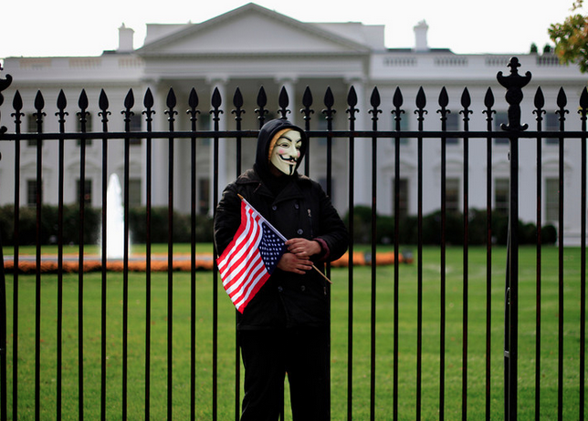 Guy Fawkes - Million Mask March - 2013