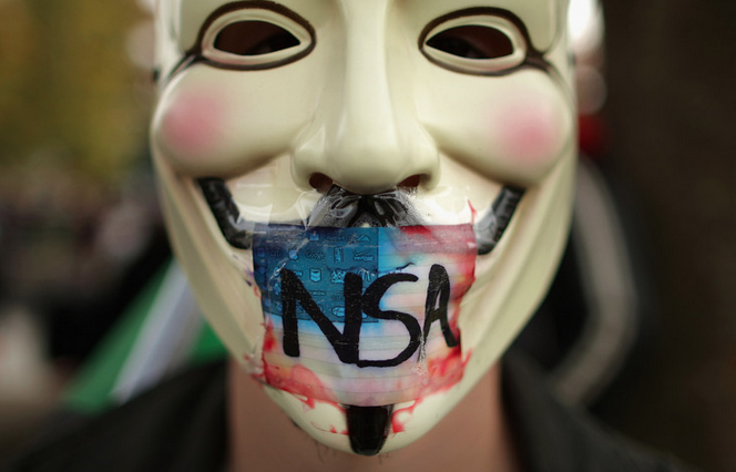 Million Mask March - 2013 - NSA