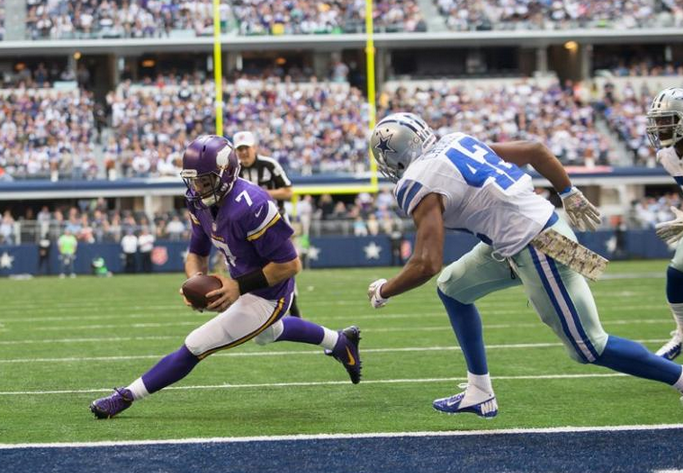 Christian Ponder - Vikings - Cowboys - 2013