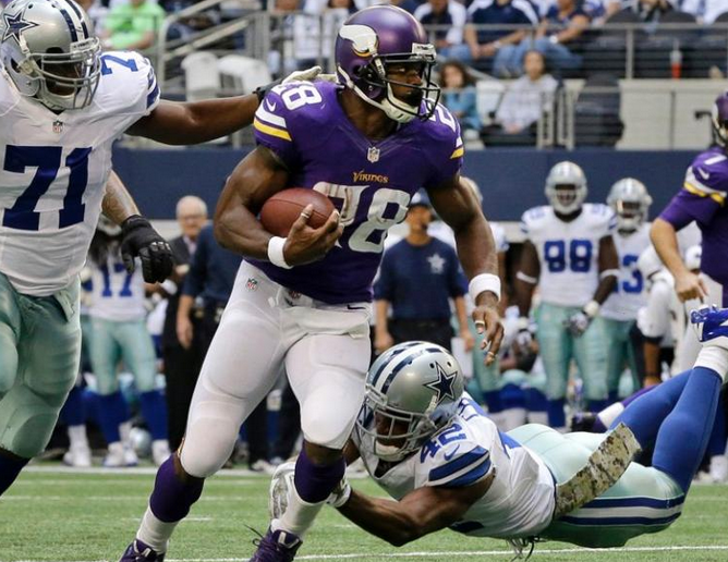 Vikings - Cowboys - Adrian Peterson - 2013