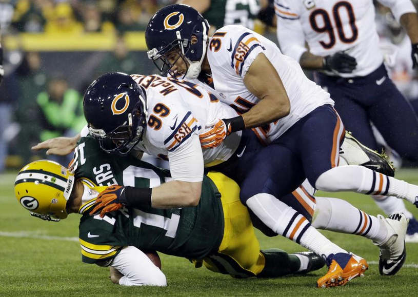 Aaron Rodgers - Hurt - 2013 - Bears