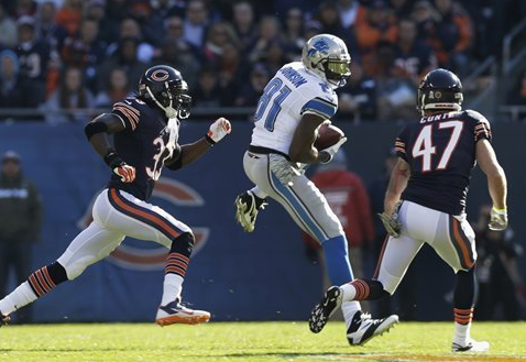 Megatron - Johnson - Lions - Bears