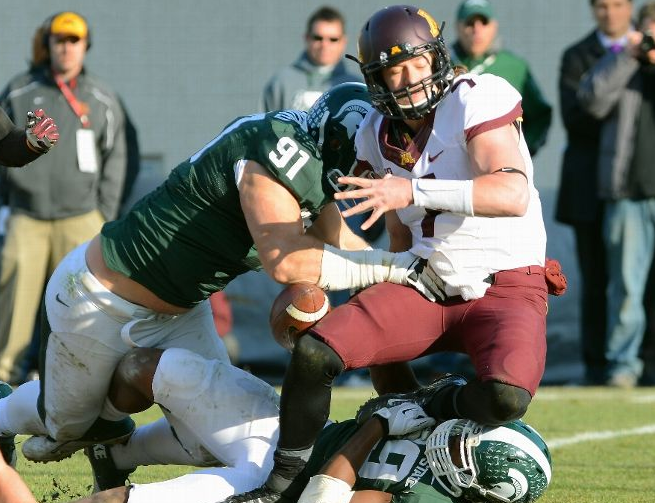 Gophers - Spartans - 2013