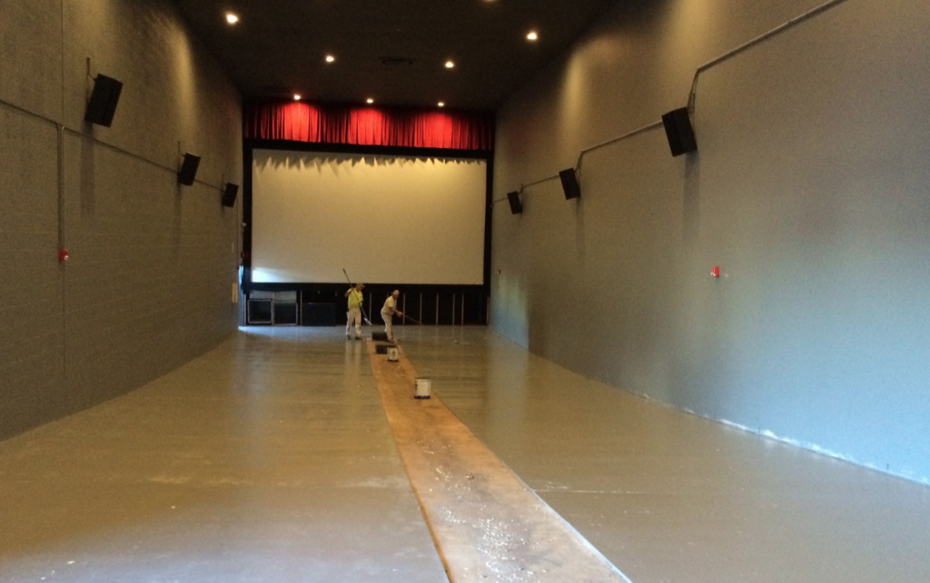 New Floors - The Plaza Theater - Maplewood