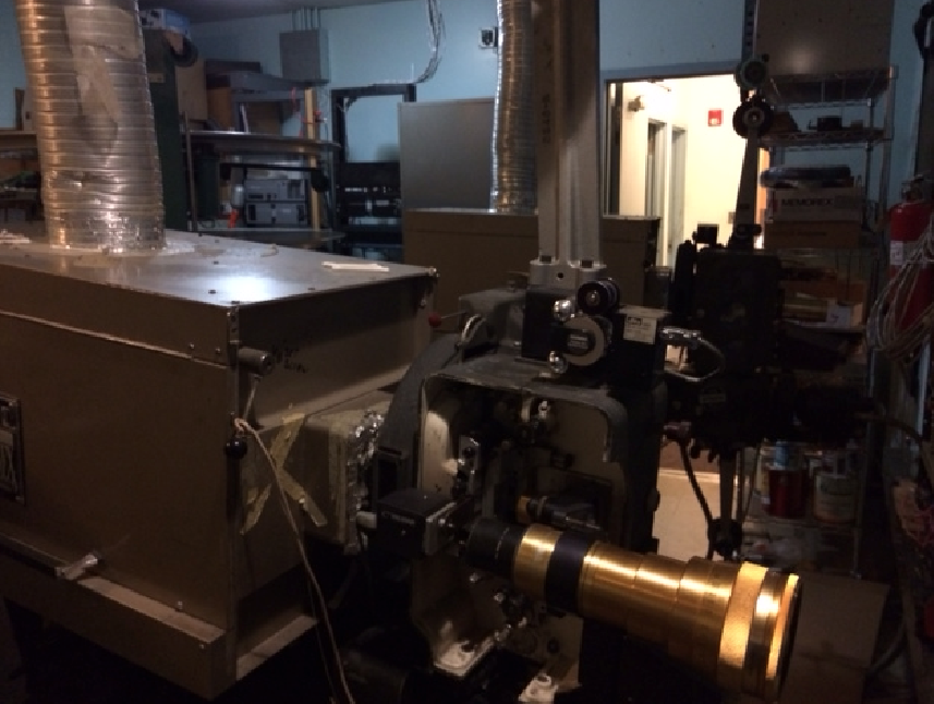 35mm projector - The Plaza - Maplewood