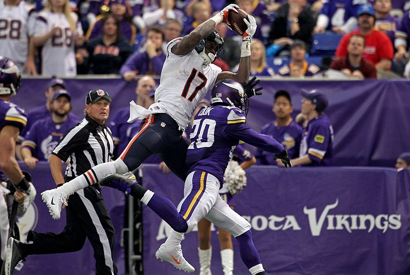 Alshon Jeffrey - Bears - Vikings - 2013 - Amazing Catch