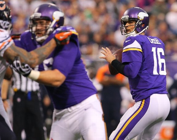 Matt Cassel - Vikings - 2013