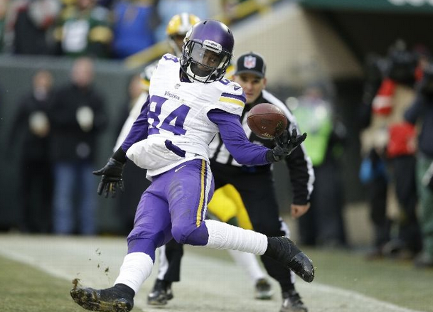 Cordarrelle Patterson - Vikings - 2013 - Packers - Tie