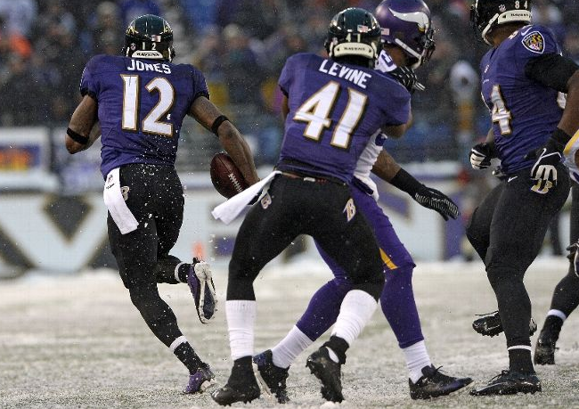 Jacoby Jones - Ravens - Vikings - Crazy Finish - 2013