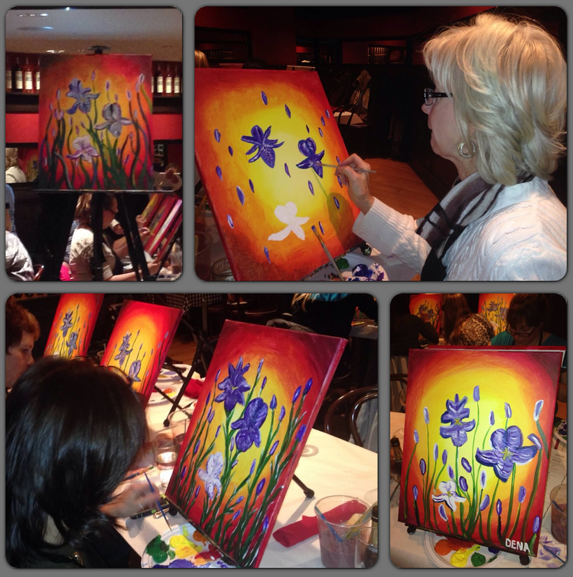 Salut Bar - St. Paul - Painting Party - Wine and Canvas