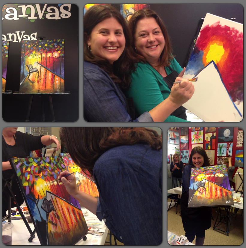 Wine and Canvas - Minneapolis - Painting Parties