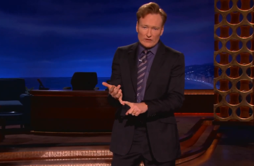 Conan O'Brien - Christmas Presents - One or Two or Ten - Media Bias - Unoriginal