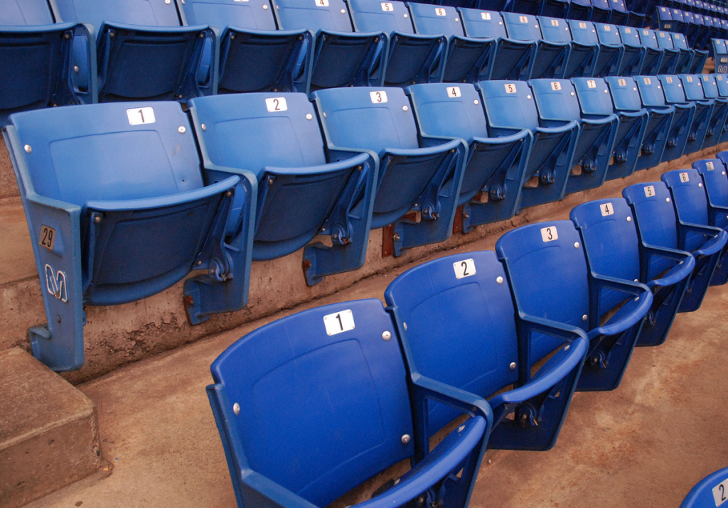 Metrodome Seats for Sale - 2013 - Blue Seats - $60