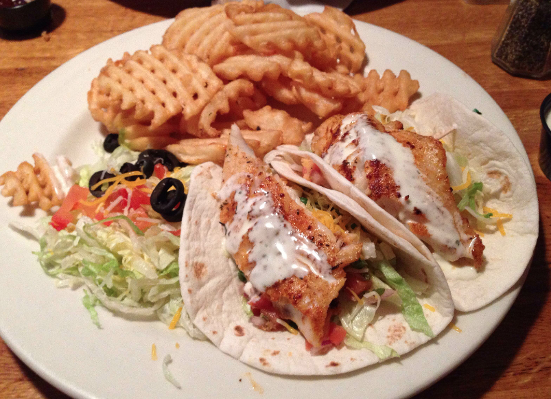 Maxwells - Minneapolis - Downtown East - Restaurant Review - Fish Tacos - 2014