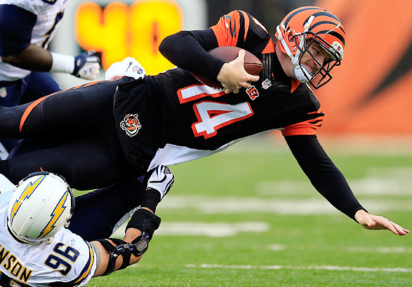 Andy Dalton - Playoff Picks