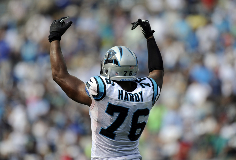 Greg Hardy - Panthers - 49ers - 2014