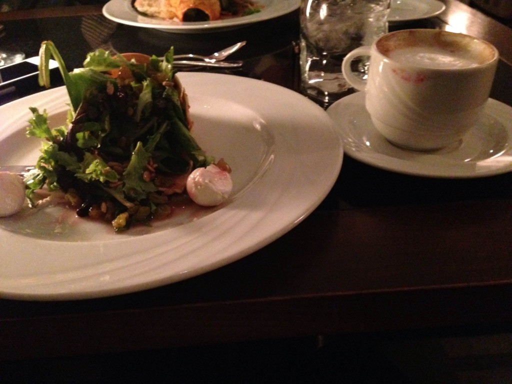 A Gorgeous Setting, Even Better Food -- 'Basil's' Restaurant Review - salad - appetizer