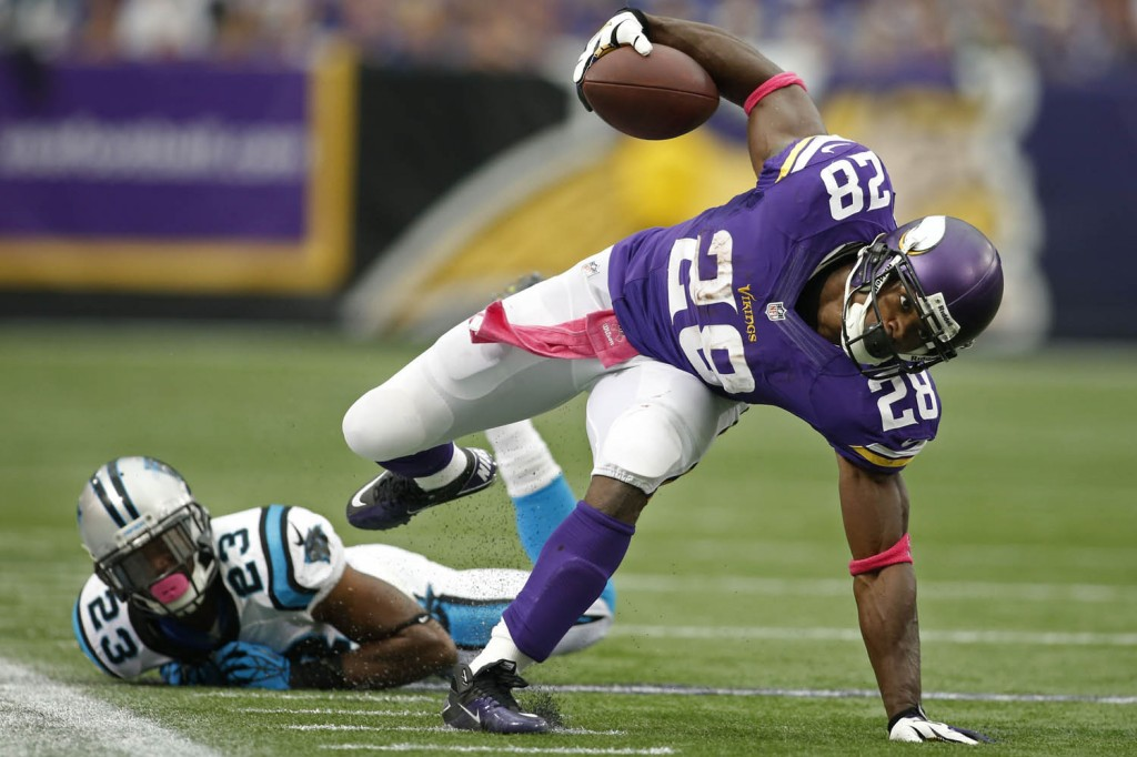 NFL: Carolina Panthers at Minnesota Vikings