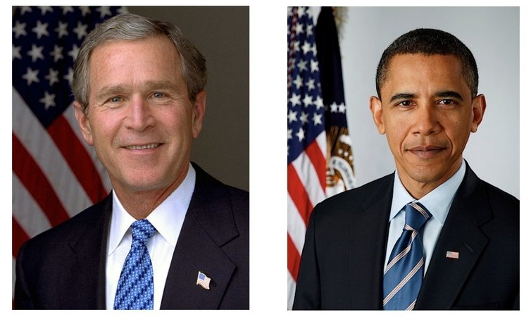 Bush vs. Obama - Liberal vs. Conservative