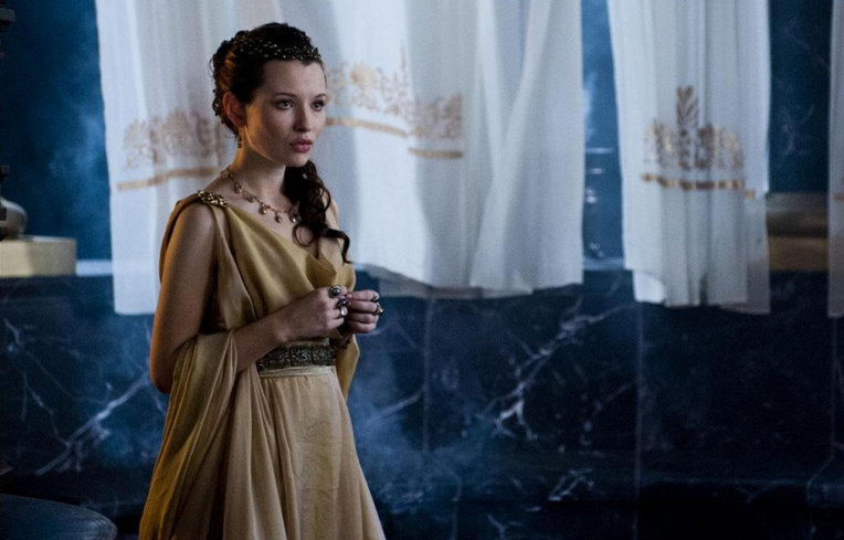Emily Browning - Movie Review - 'Pompeii' is a Visual Masterpiece and More