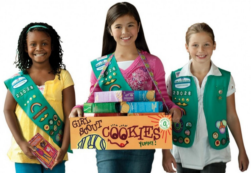 Girl Scout Cookie Sales Booths Now Open 2014