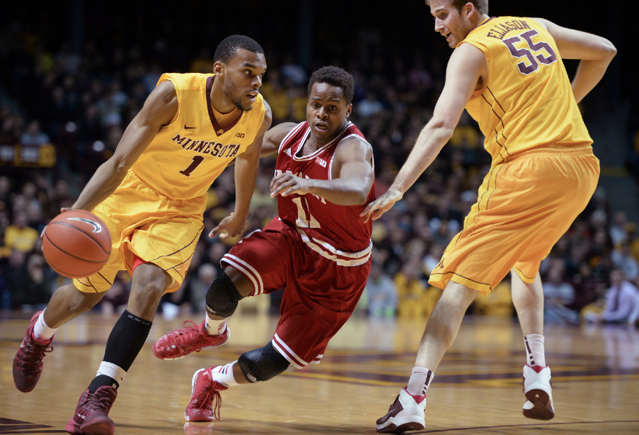 Gophers Defeat Indiana - 2014