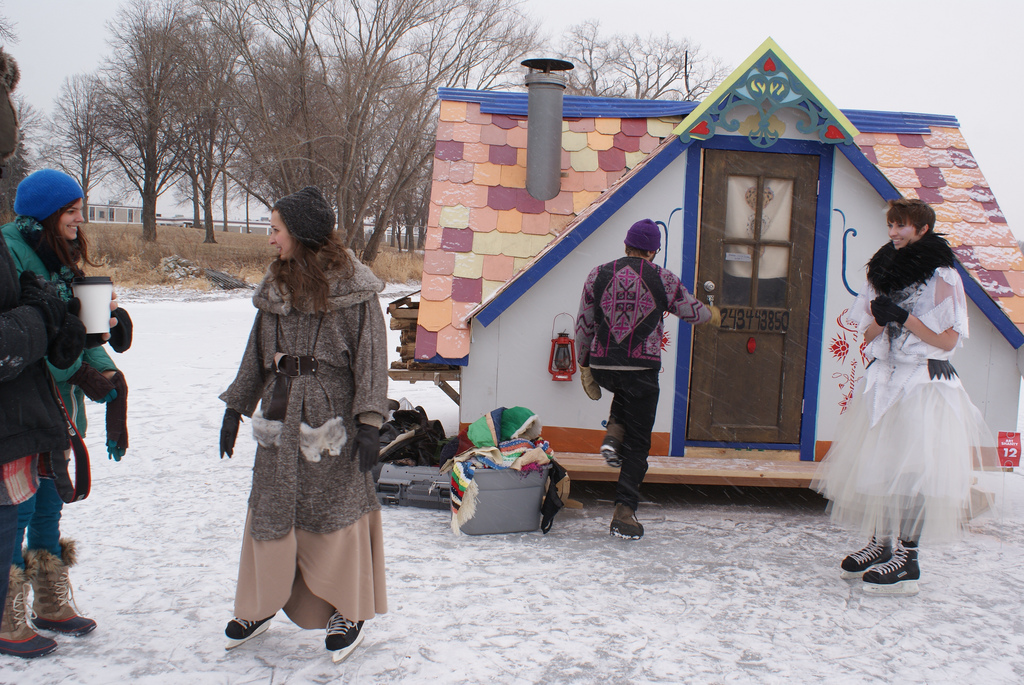 Ice Shanty - Artistic Ice Houses - White Bear Lake - 2014