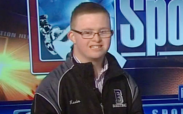 Kevin Grow - Pennsylvania Student With Down Syndrome Becomes a High School Basketball Legend