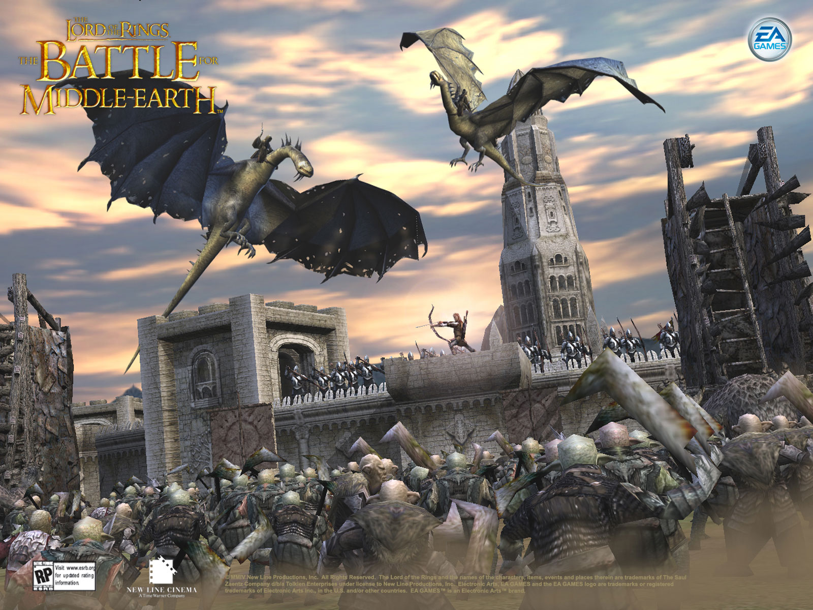 Lord of the Rings The Battle for Middle Earth 1
