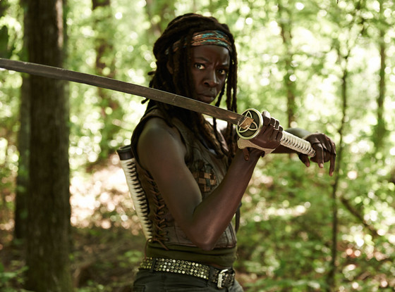 Michonne-the walking dead - season 4