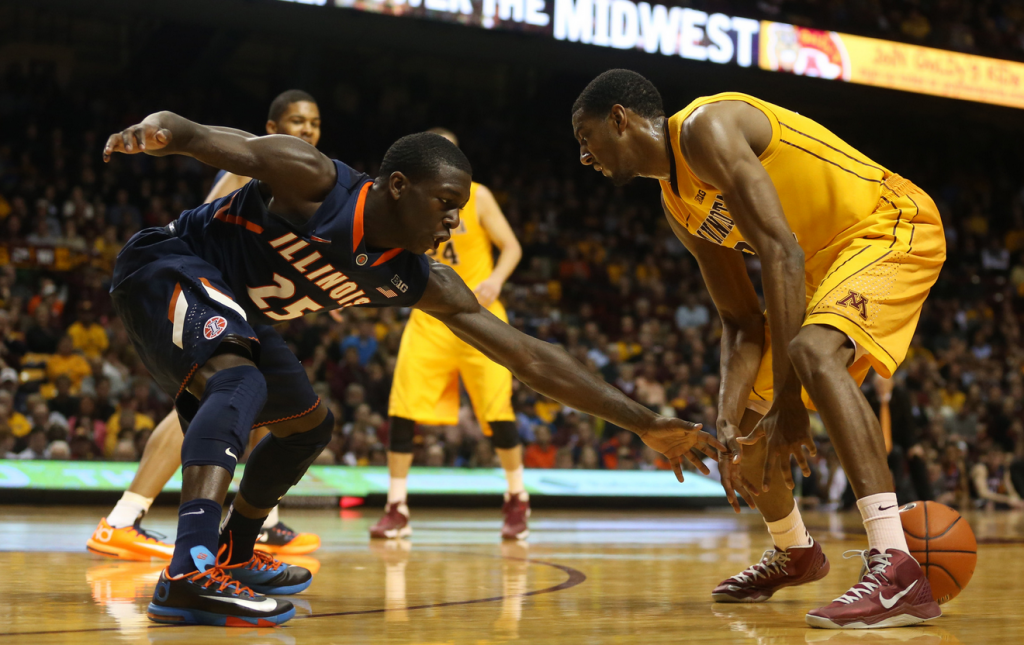 Minnesota Gophers lose to Illinois - NCAA basketball