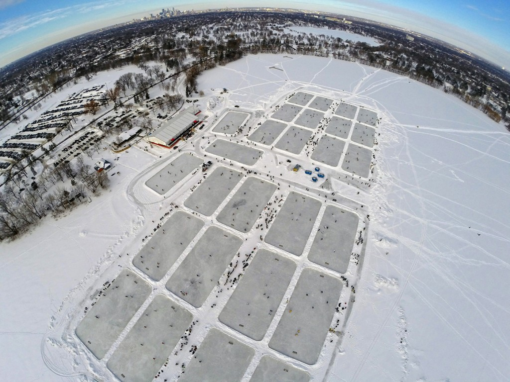 Minnesota pond hockey